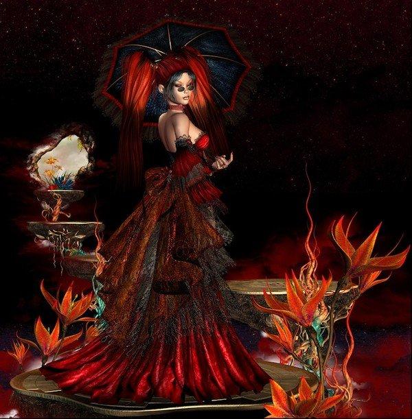 rouge et noir. dans femmes 14513e08