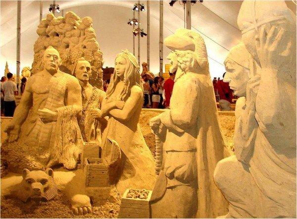 concourt de cateaux de sable.de l'art. dans art Image29