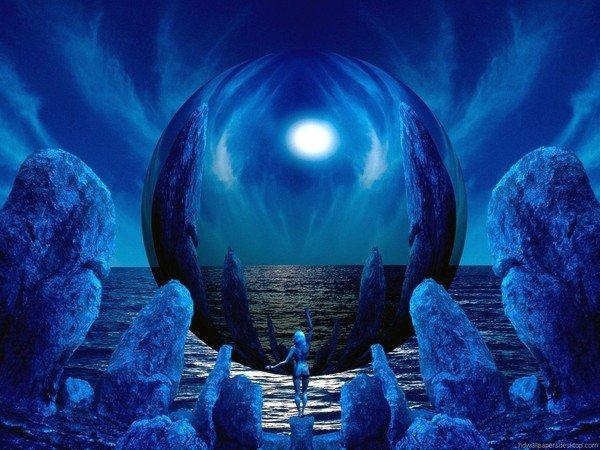 image  bleue. dans océans f0d7fe16